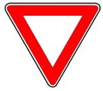 trougao znak zabrane