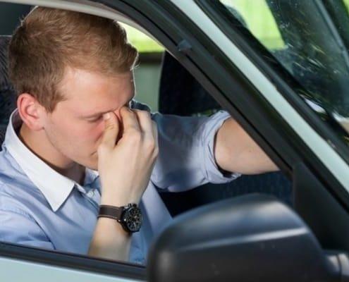 koncentracija tokom voznje